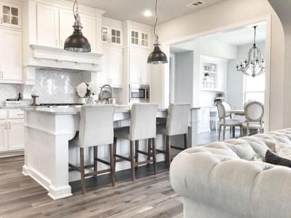 Elegant White Kitchen Cabinets For Your Kitchen 39