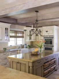 Fancy French Country Kitchen Design Ideas 05