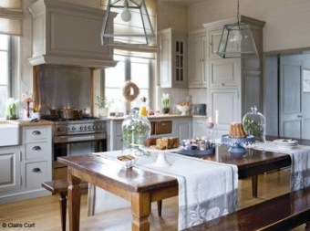 Fancy French Country Kitchen Design Ideas 07