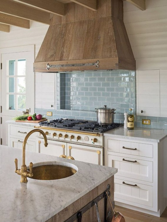 Fancy French Country Kitchen Design Ideas 34