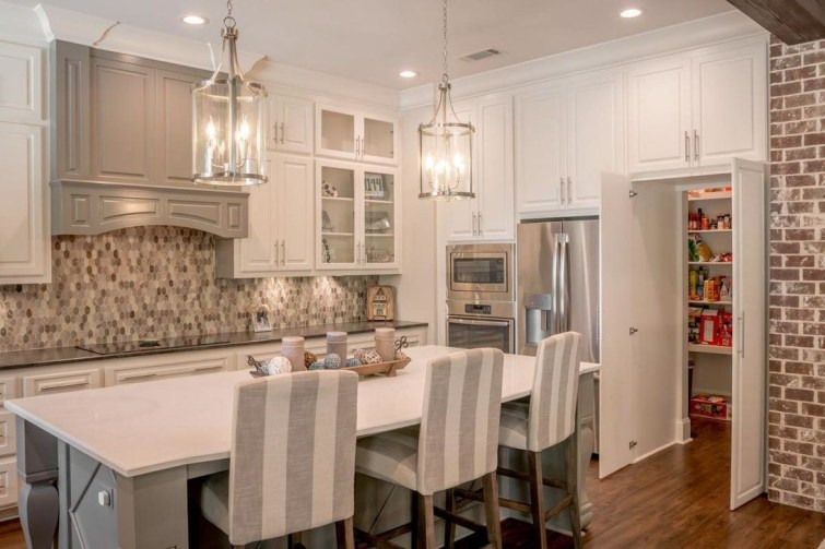 Fancy French Country Kitchen Design Ideas 47