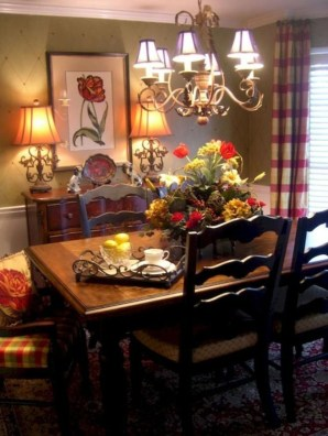 Fancy French Country Kitchen Design Ideas 51