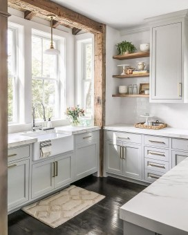 Gorgeous Farmhouse Kitchen Cabinets Decor And Design Ideas To Fuel Your Remodel 14