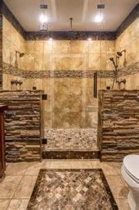 Luxurious Tile Shower Design Ideas For Your Bathroom 07