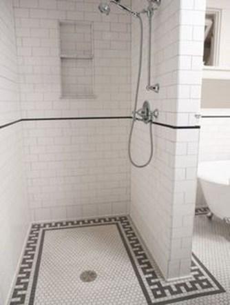 Luxurious Tile Shower Design Ideas For Your Bathroom 34