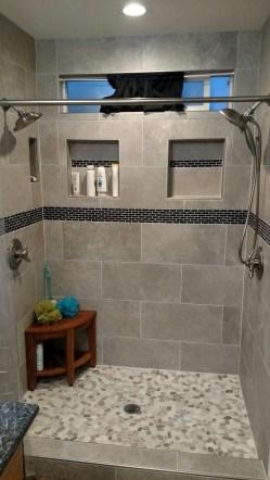 Luxurious Tile Shower Design Ideas For Your Bathroom 36