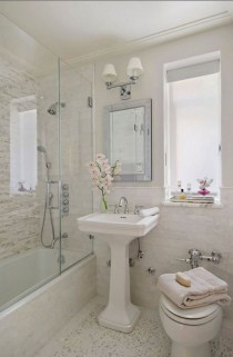 Minimalist Small Bathroom Remodeling On A Budget 13