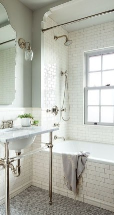 Minimalist Small Bathroom Remodeling On A Budget 15