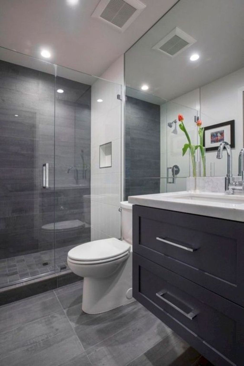 Minimalist Small Bathroom Remodeling On A Budget 40