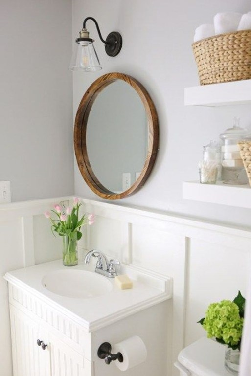 Minimalist Small Bathroom Remodeling On A Budget 42