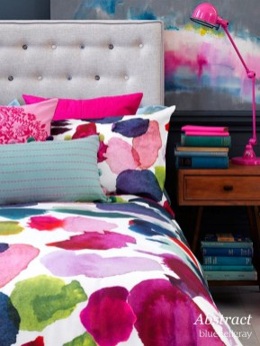 Modern Colorful Bedroom Design Ideas For Your Daughter 24
