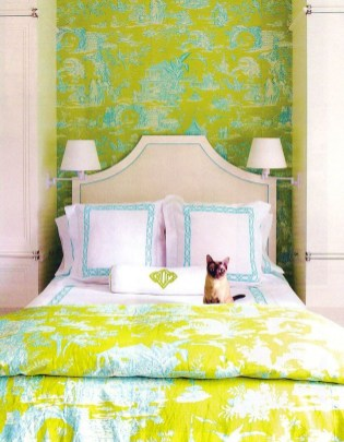 Modern Colorful Bedroom Design Ideas For Your Daughter 33
