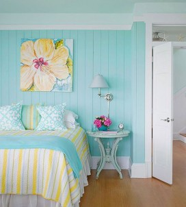 Modern Colorful Bedroom Design Ideas For Your Daughter 38