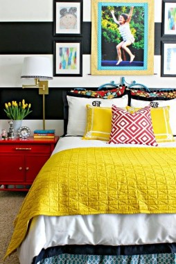 Modern Colorful Bedroom Design Ideas For Your Daughter 48