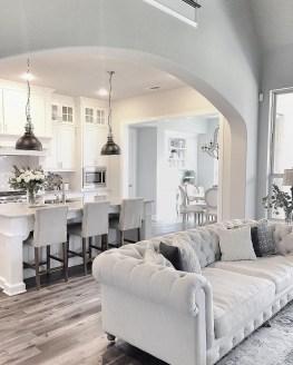 Modern Farmhouse Living Room Design Ideas 15