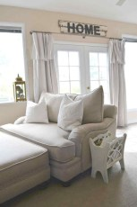 Modern Farmhouse Living Room Design Ideas 19