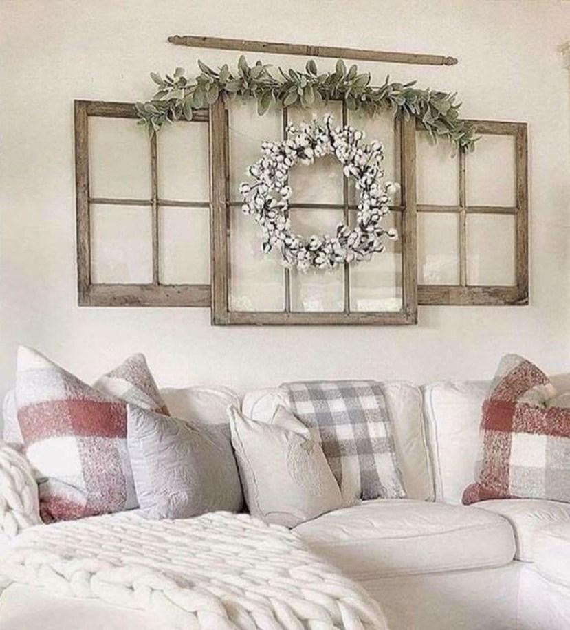 Modern Farmhouse Living Room Design Ideas 34