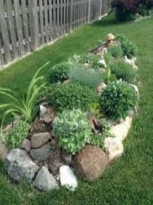 Relaxing Modern Rock Garden Ideas To Make Your Backyard Beautiful 03