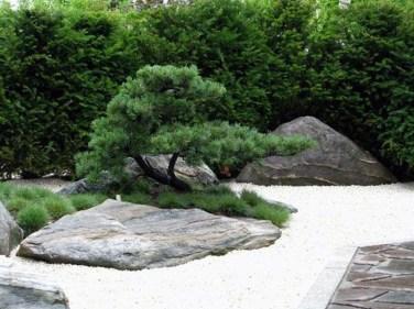 Relaxing Modern Rock Garden Ideas To Make Your Backyard Beautiful 08