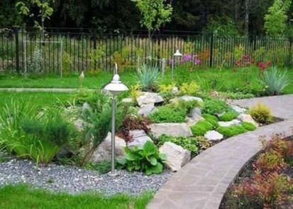 Relaxing Modern Rock Garden Ideas To Make Your Backyard Beautiful 09