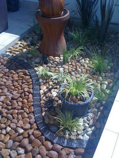 Relaxing Modern Rock Garden Ideas To Make Your Backyard Beautiful 12