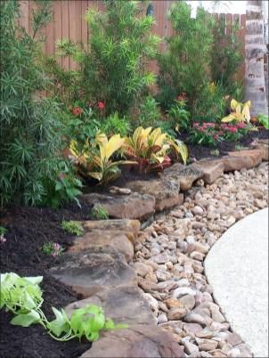 Relaxing Modern Rock Garden Ideas To Make Your Backyard Beautiful 24