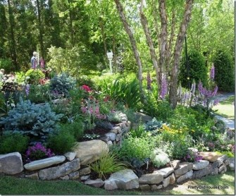 Relaxing Modern Rock Garden Ideas To Make Your Backyard Beautiful 39