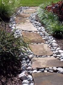 Relaxing Modern Rock Garden Ideas To Make Your Backyard Beautiful 40