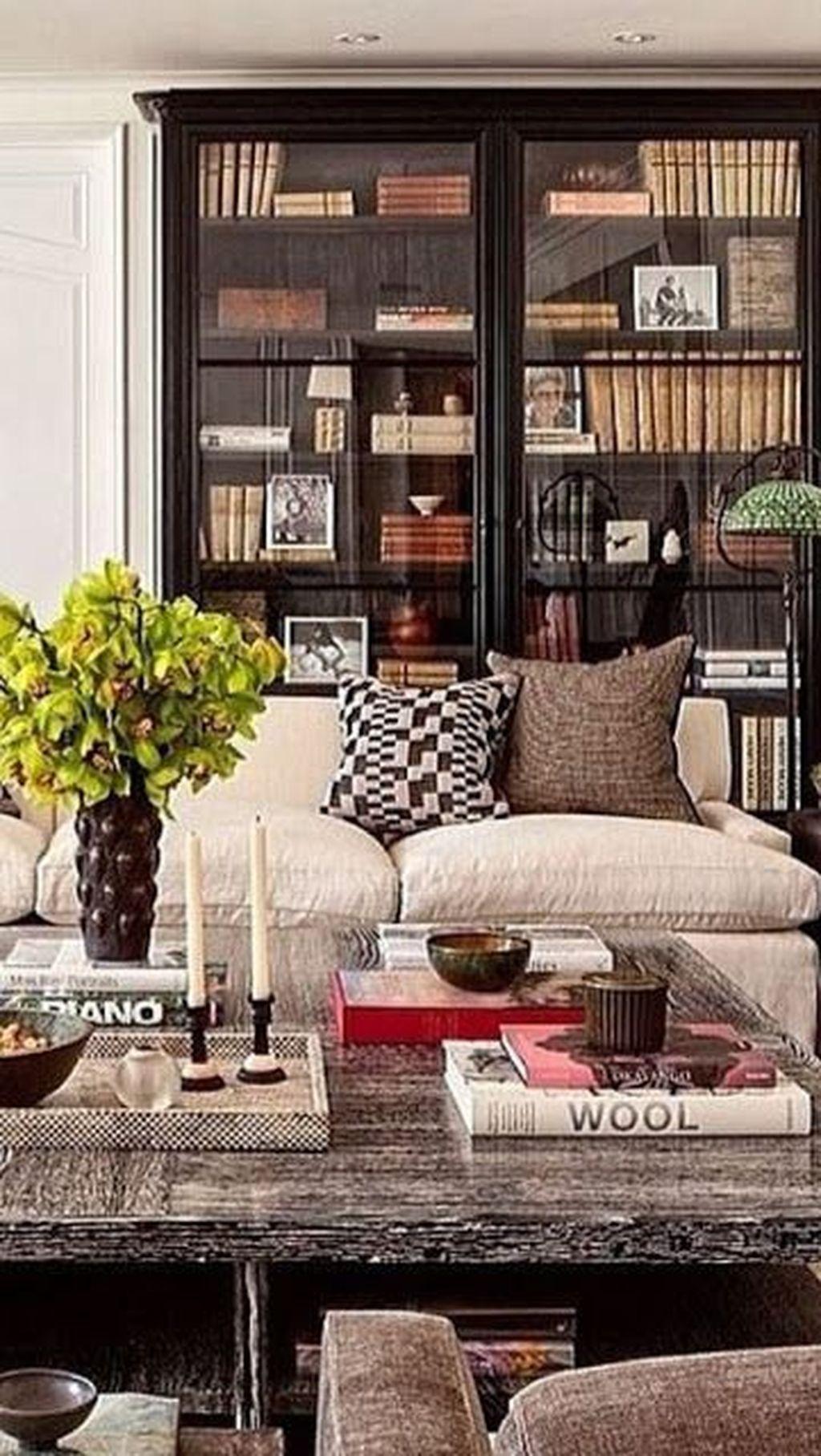 Stylish Bookshelves Design Ideas For Your Living Room 03