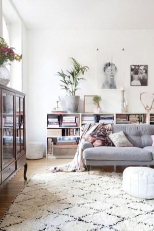 Stylish Bookshelves Design Ideas For Your Living Room 08