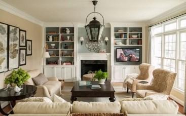 Stylish Bookshelves Design Ideas For Your Living Room 09
