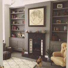 Stylish Bookshelves Design Ideas For Your Living Room 10