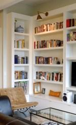 Stylish Bookshelves Design Ideas For Your Living Room 21