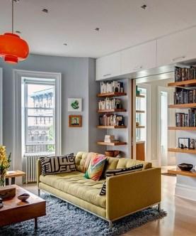 Stylish Bookshelves Design Ideas For Your Living Room 25