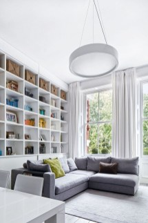 Stylish Bookshelves Design Ideas For Your Living Room 29