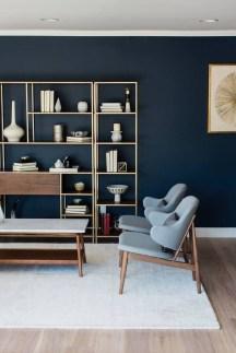 Stylish Bookshelves Design Ideas For Your Living Room 32