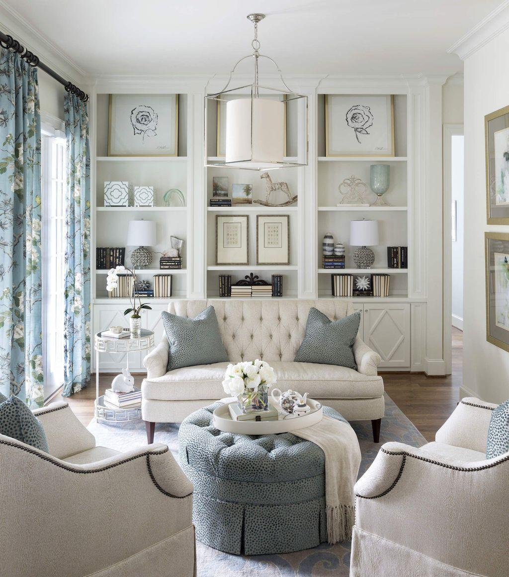 Stylish Bookshelves Design Ideas For Your Living Room 36
