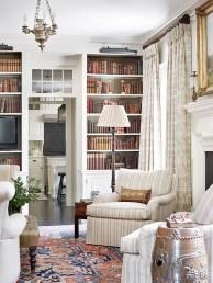 Stylish Bookshelves Design Ideas For Your Living Room 39