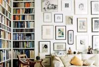 Stylish Bookshelves Design Ideas For Your Living Room 42