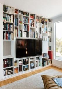 Stylish Bookshelves Design Ideas For Your Living Room 43