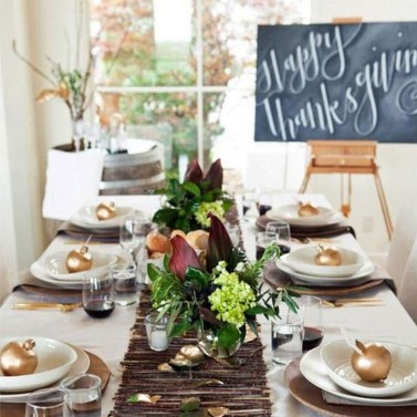 The Best Ideas For Thankgiving Table Decorations 44