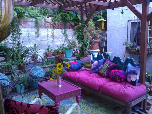 Awesome Bohemian Style Ideas For Outdoor Design 14