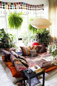 Awesome Bohemian Style Ideas For Outdoor Design 24
