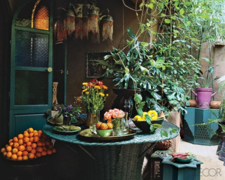 Awesome Bohemian Style Ideas For Outdoor Design 25