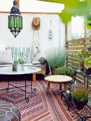 Awesome Bohemian Style Ideas For Outdoor Design 38