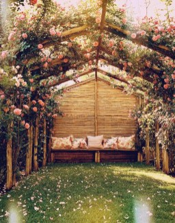Awesome Bohemian Style Ideas For Outdoor Design 42