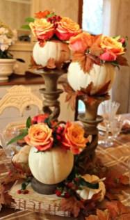 Beautiful Thanksgiving Table Decoration Ideas 02