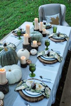 Beautiful Thanksgiving Table Decoration Ideas 09