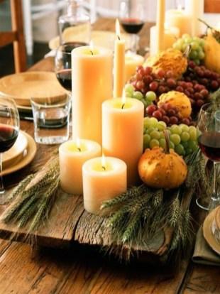 Beautiful Thanksgiving Table Decoration Ideas 18