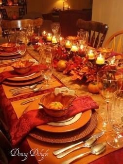 Beautiful Thanksgiving Table Decoration Ideas 30